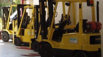 Lister Lift Trucks forklift truck