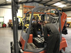 About Us lister lift trucks