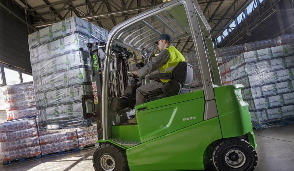4-Wheel Electric Forklift Truck CESAB B600